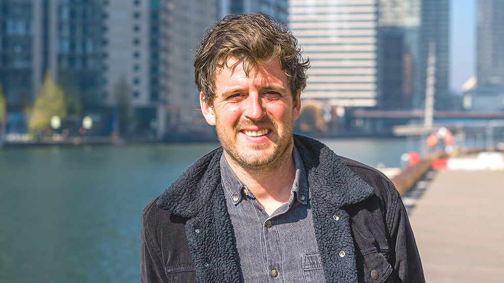 An image showing GoBoat co-owner Grant Sweeney