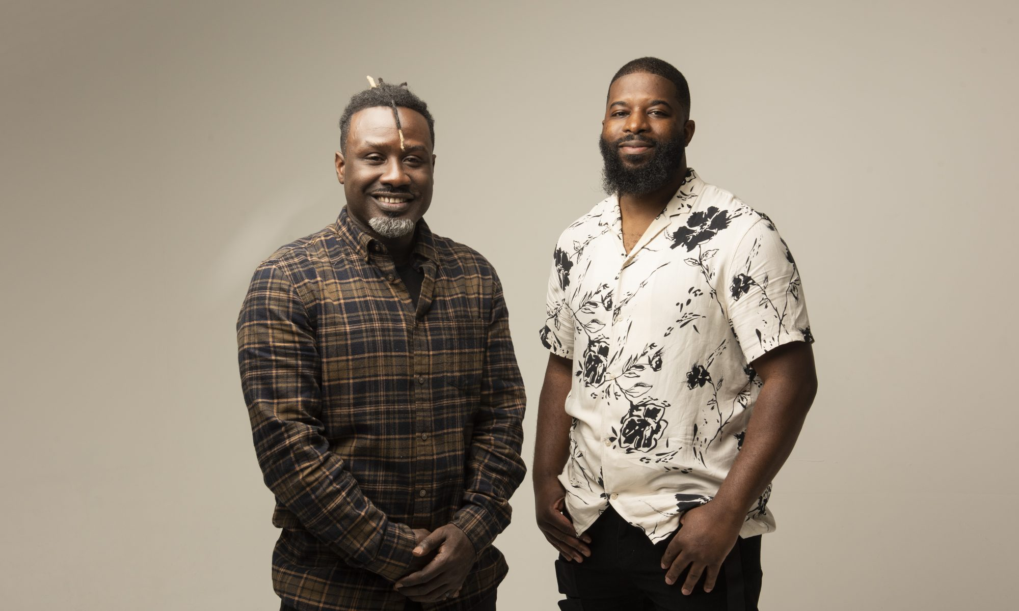 Image shows Michael Stuart-Daley and Calvin Mlilo of Silverspace