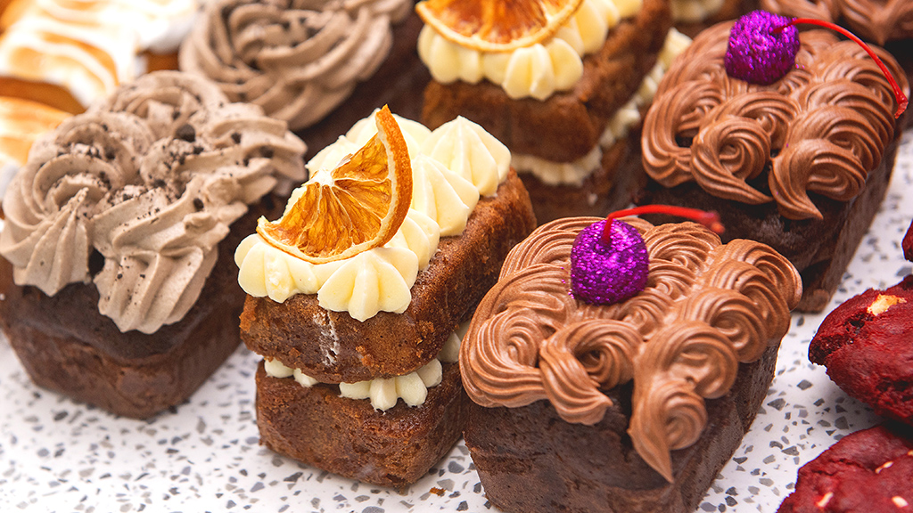 A selection of cakes on offer at the bakehouse