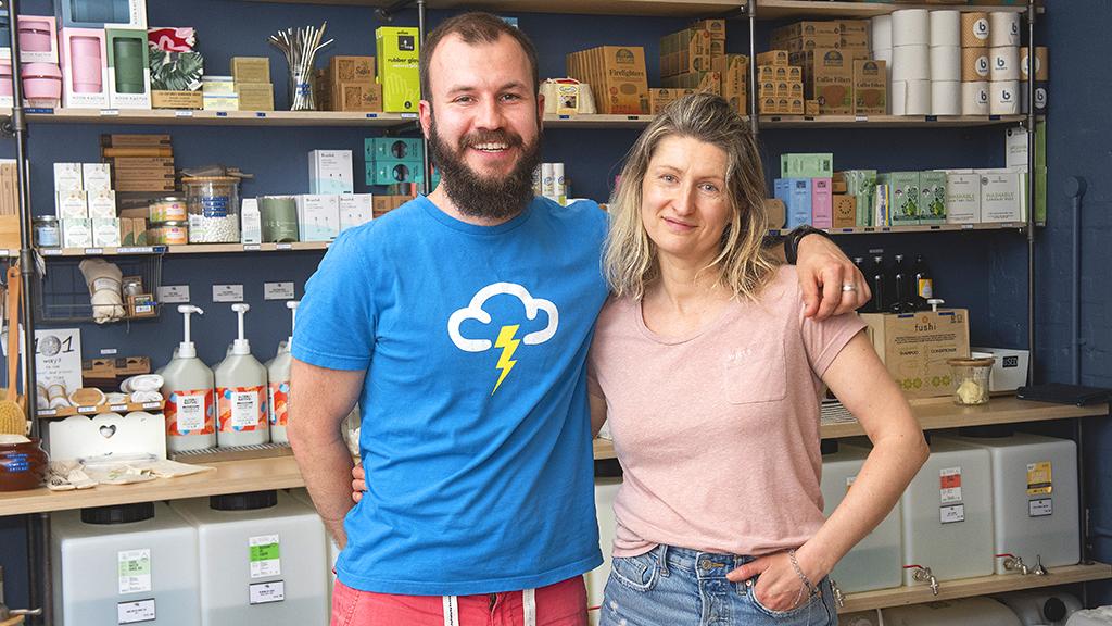 Art Of Zero Living founders Justas Kanapeckas and Vita Viskackaite
