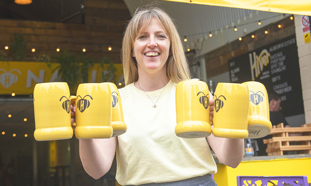 Hiver founder and managing director Hannah Rhodes