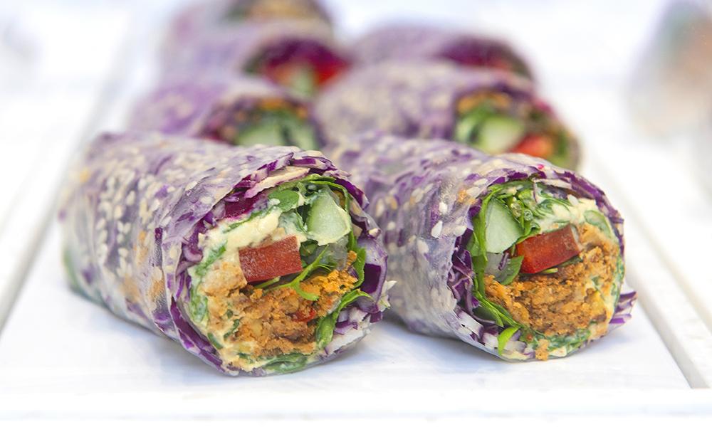 Salad rolls by Kaleido