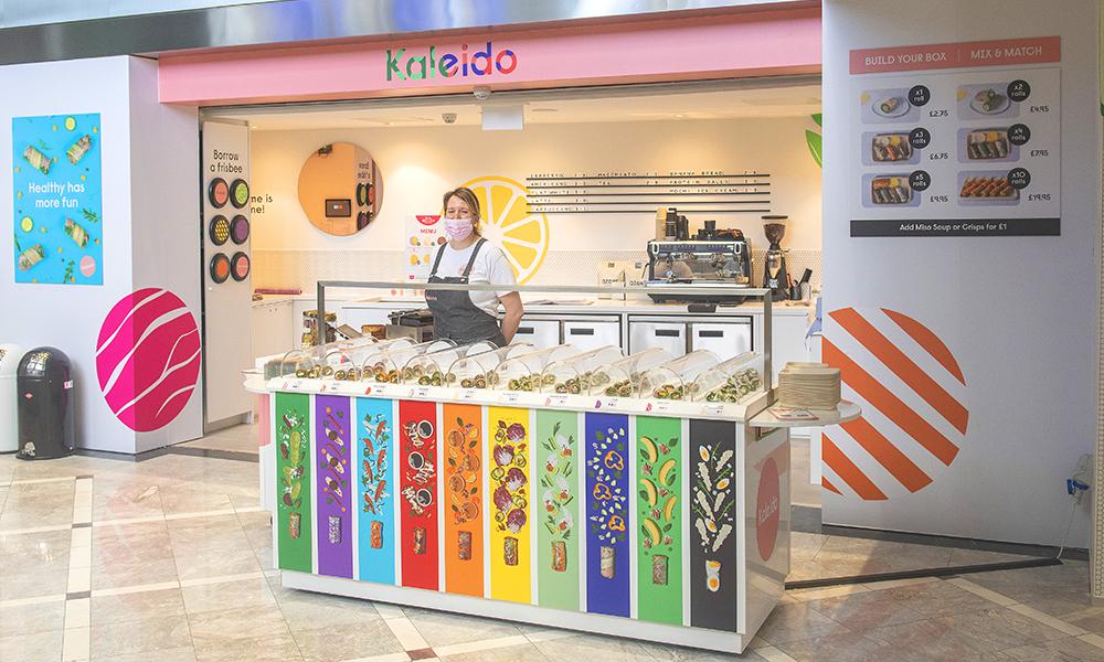 Kaleido's Canary Wharf branch