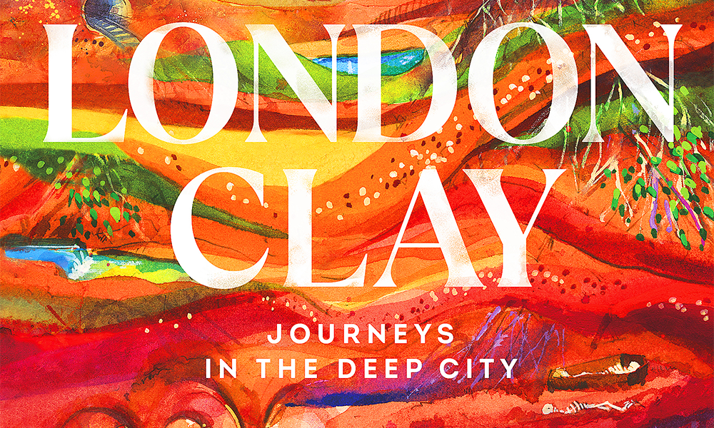 Detail from the cover of London Clay by Tom Chivers