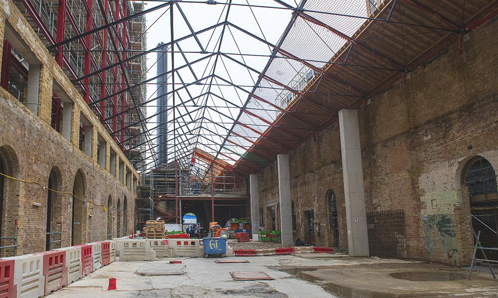 Windsor Square under construction at Building 10