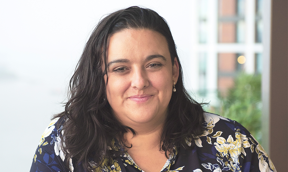 Head of social value Carolina Correia