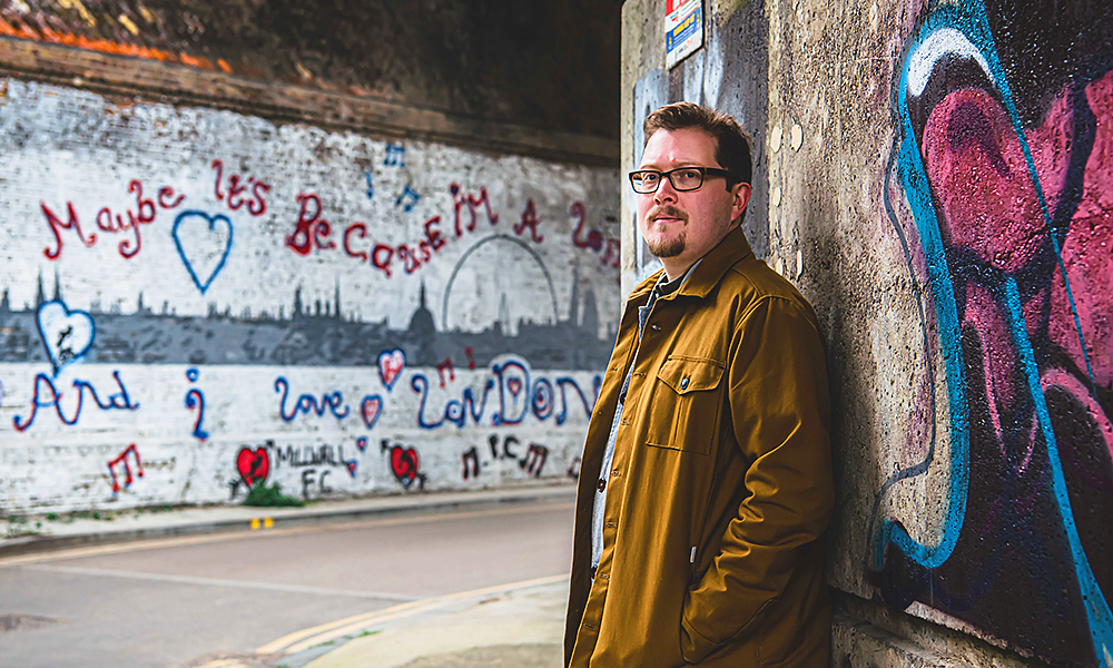 Author Tom Chivers grew up in south London